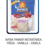 Avena Panker Instantánea: Fresa, Vainilla, Canela, 350g - 200g