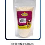 Coco deshidratado: 200g - 125g