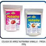 Colada de arroz Nutrarina Vainilla - Fresa: 200g