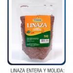 Linaza Entera y Molida: 500g - 250g